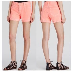 [J Brand] Joanie Boyfriend Denim Shorts